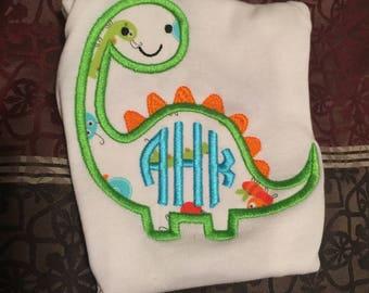 Baby Dino Appliqué Onesie