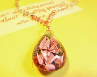 Pink Petals Necklace
