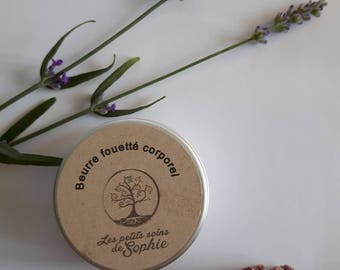 Whipped body butter / intense moisturizing body and face / mask face and hair