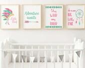 Boho Nursery 8x10 Printab...