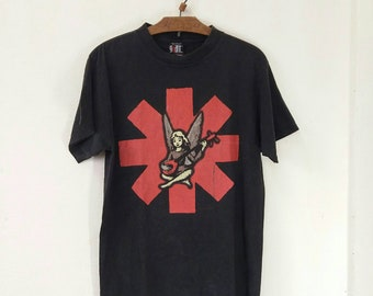 Vintage Red Hot Chili Peppers World Tour 1996 tshirt rare