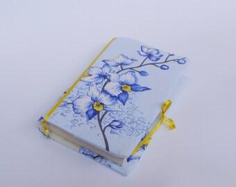 Fabric book cover, Reusable book cover, Handmade book case, Paperback book cover