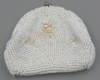 Beaded Vintage Coin Purse