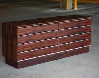 Westnofa 8 Drawer Rosewood Dresser / Credenza