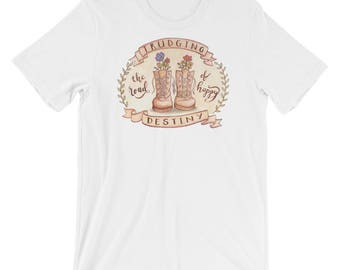 Trudging the Road of Happy Destiny Short-Sleeve Unisex T-Shirt