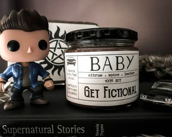 Baby {Dean's Impala} - Supernatural 12oz Soy Candle
