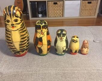 Catryoshka Matryoshka Dolls