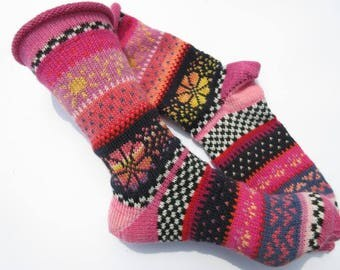 Fair Isle Socks Maia Gr. 39/40