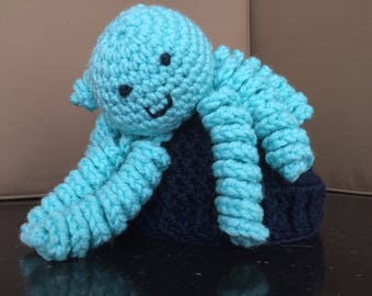 Crocheted Octopus Hat