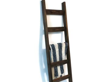 6 ft Decorative Ladder, Rustic or Modern styles available