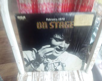 Vintage Elvis On Stage February 1970 Vinyl Record