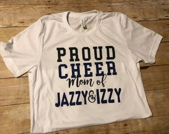Proud Cheer Mom T-Shirt or Tank