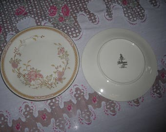 Royal Doulton Romance Collection Lisette English Fine Bone China set of 2 side plates H5082