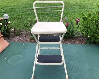 Cosco step stool folding stool stool step ladder kitchen stool folding & Vintage costco stool | Etsy islam-shia.org
