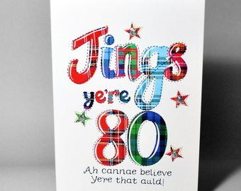 Scottish Jings 80 Card WWBI100
