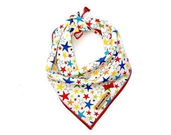Clearance Star dog bandana, fourth of July, americana dog bandana, dog bandana, dog accessories, pet bandana, dog clothing, puppy, dog, pet:
