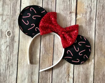 Christmas Peppermint Mouse Ears