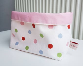 Pastel Collection, fabric storage basket, storage bin, box bin bucket