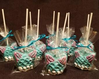 Mermaid cake pops (order of 13)