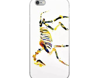 Watercolor horse skeleton cover for iPhone 5/5s/Se, 6/6s, 6/6s Plus Case