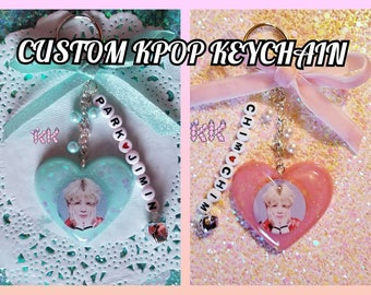 Custom KPOP Keychain