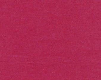 Kaffe Fassett Fabric - Shot Cotton - Rowan - Designer - CT120999- magenta - SC81- Modern - 100 Percent Cotton