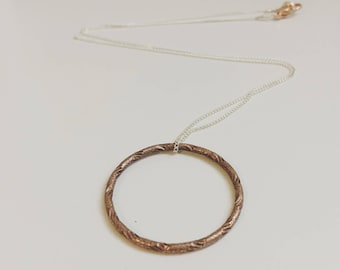 Copper & Silver Unite Necklace (Summer Collection)