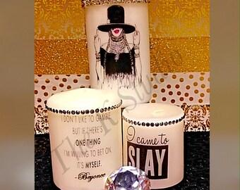 Watch Me Slay Candle Set