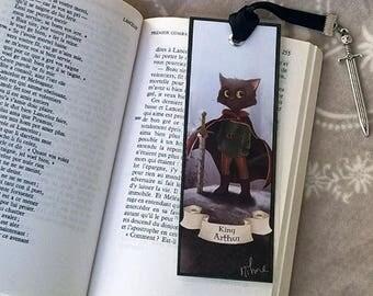 Mark King Arthur new version - illustrated, laminated, hand-made