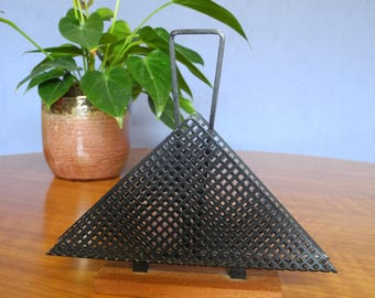 Napkin holder mid century