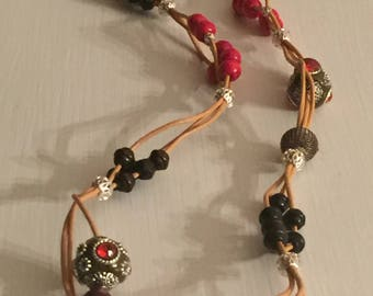 Beads and Leather