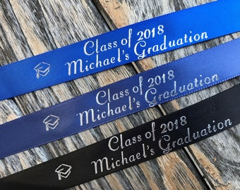 Class of 2018 Personalized Graduation Ribbon