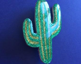 "Brooch ""Cactus, AE, AE"""