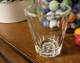 Federal Glass,  Columbus,  Ohio.  Whiskey/ shot glass.