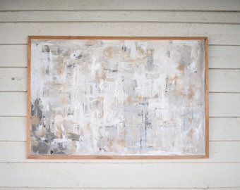 Large Abstract Painting - 'Laminen'