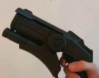 Mercy Pistol Gun Overwatch inspirited  cosplay consafe prop Replica
