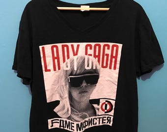 Lady Gaga the Fame Monster album 2009 t shirt