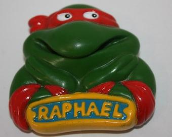 Teenage Mutant Ninja Turtles TMNT Raphael 1989 Burger King Toy