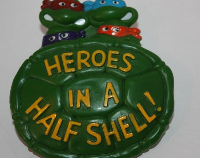 Teenage Mutant Ninja Turtles TMNT Heroes In A Half Shell 1989 Burger King Toy