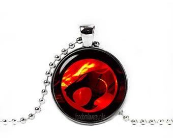 Thundercats Pendant Thundercats  Necklace Thundercats chain Fandom Jewelry Fangirl Fanboy