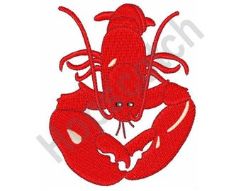 Red Lobster - Machine Embroidery Design