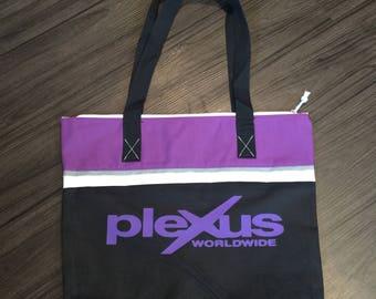 Plexus inspired tote bag