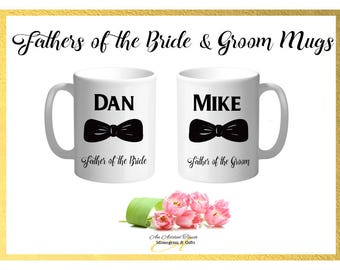 Fathers of the Bride & Groom Mugs