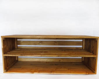 Handmade-Rustic-Style-Wooden-Shoe-Cabinet-Rack-Many-Colours-and-Sizes Handmade-