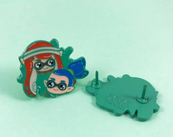 Your a Squid Kid Enamel Pin