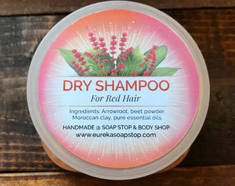Dry Shampoo for Red Hair