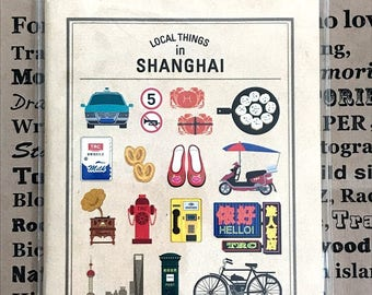 Traveler's Company Caravan in Shanghai Passport Size refill Shianghai Limited Products Made in Japan Limited Rare Midori
