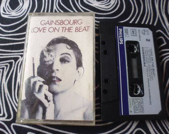 "Tape Serge Gainsbourg ""love on the beat""vgc/used  plastic box"