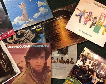 Four Record Albums 70's 80's Rock Blues Jazz Your Choice