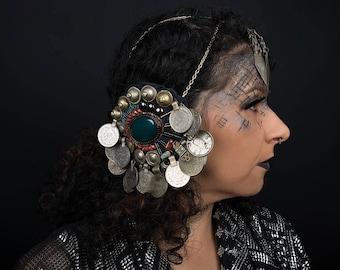The headdress - skull jewelry death of head